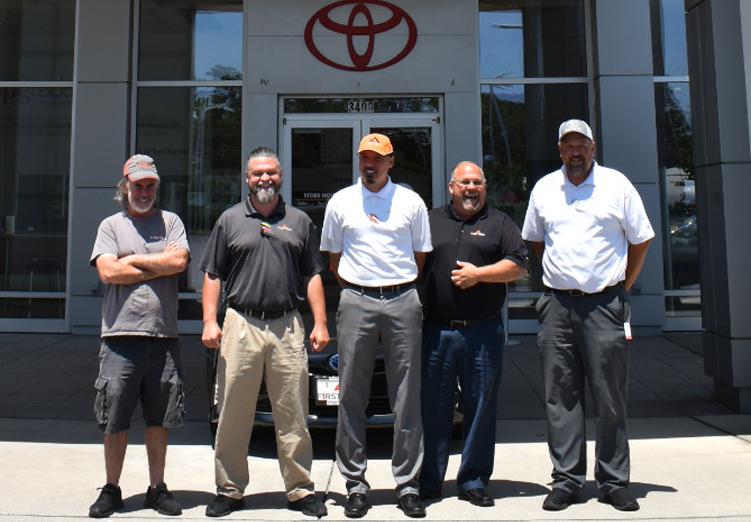 First Team Toyota Sales Team