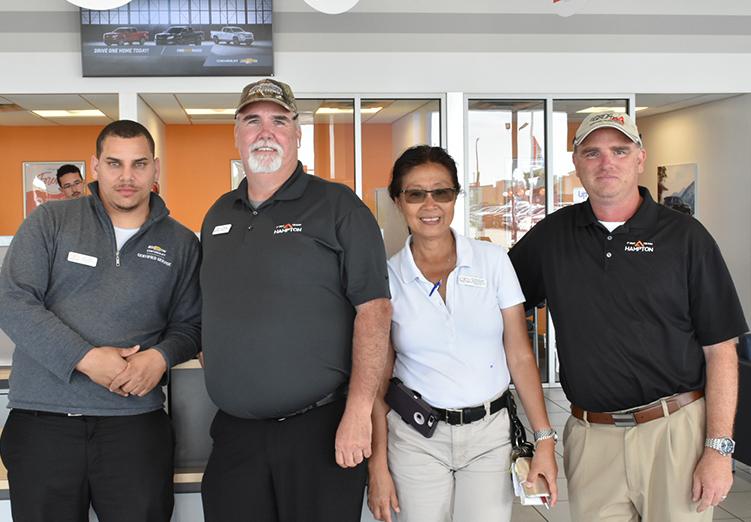 First Team Chevrolet Sales Team