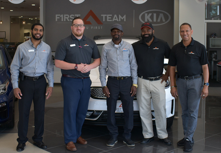First Team Kia Sales Team