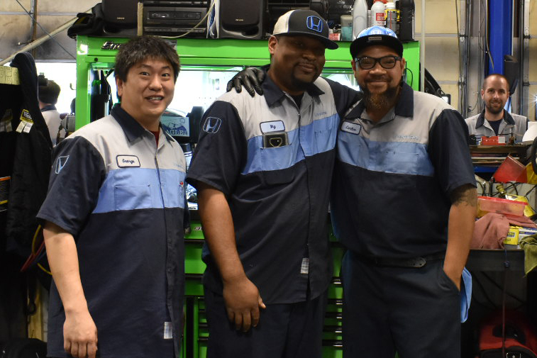 First Team Honda