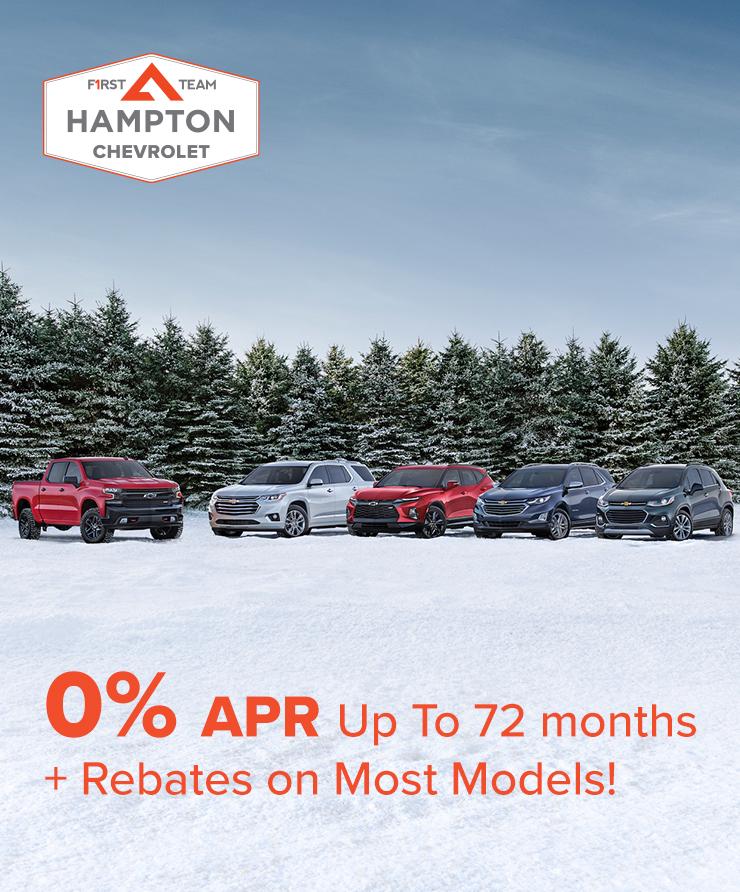 Chevy 0% Plus Rebates