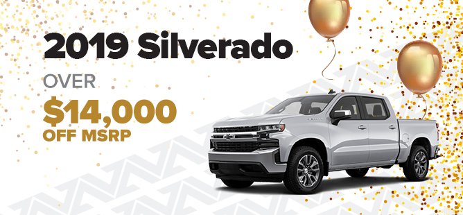 Chevy Silverado $14K Off