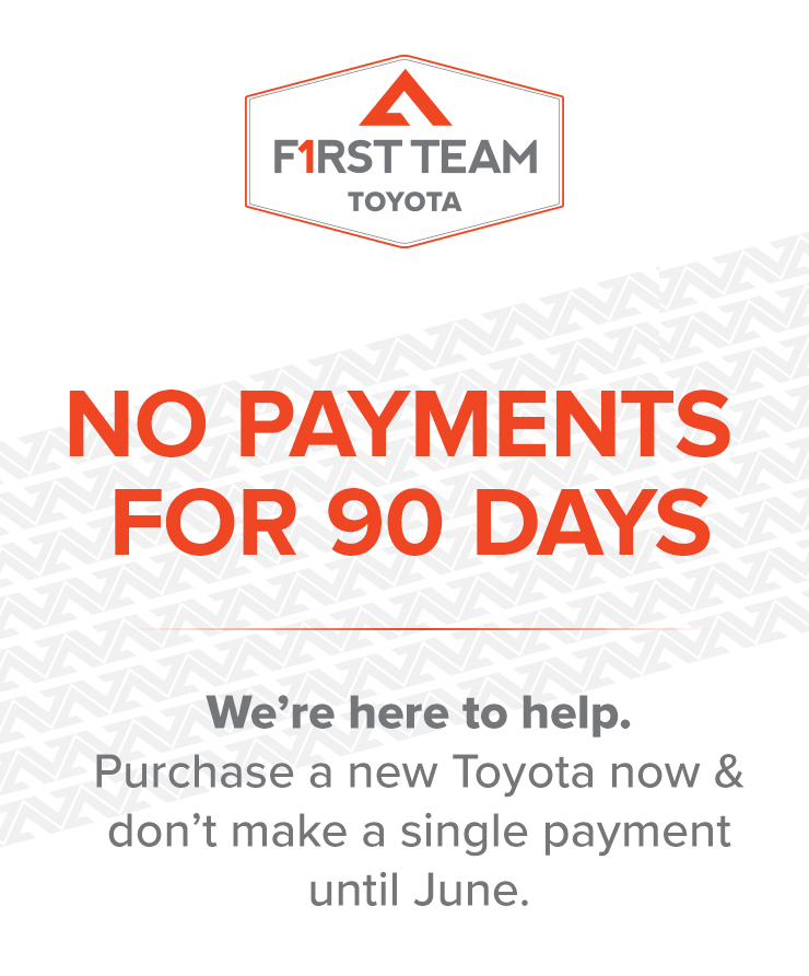 Toyota No Payments for 90 Days