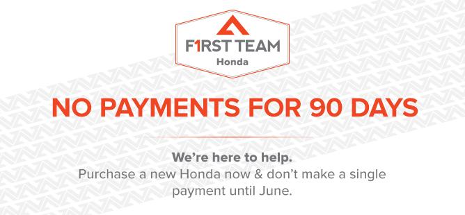 Honda No Payments