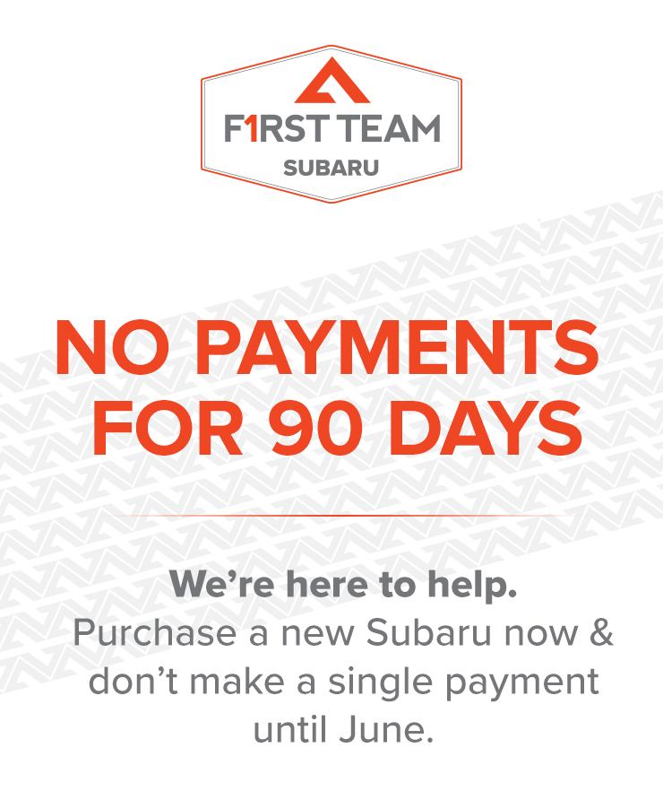 Subaru No Payments for 90 Days