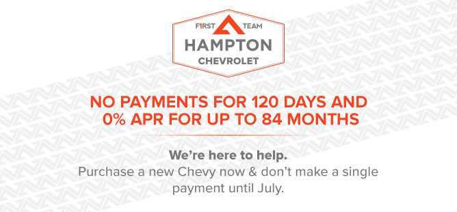 Chevy No Payments for 120 Days