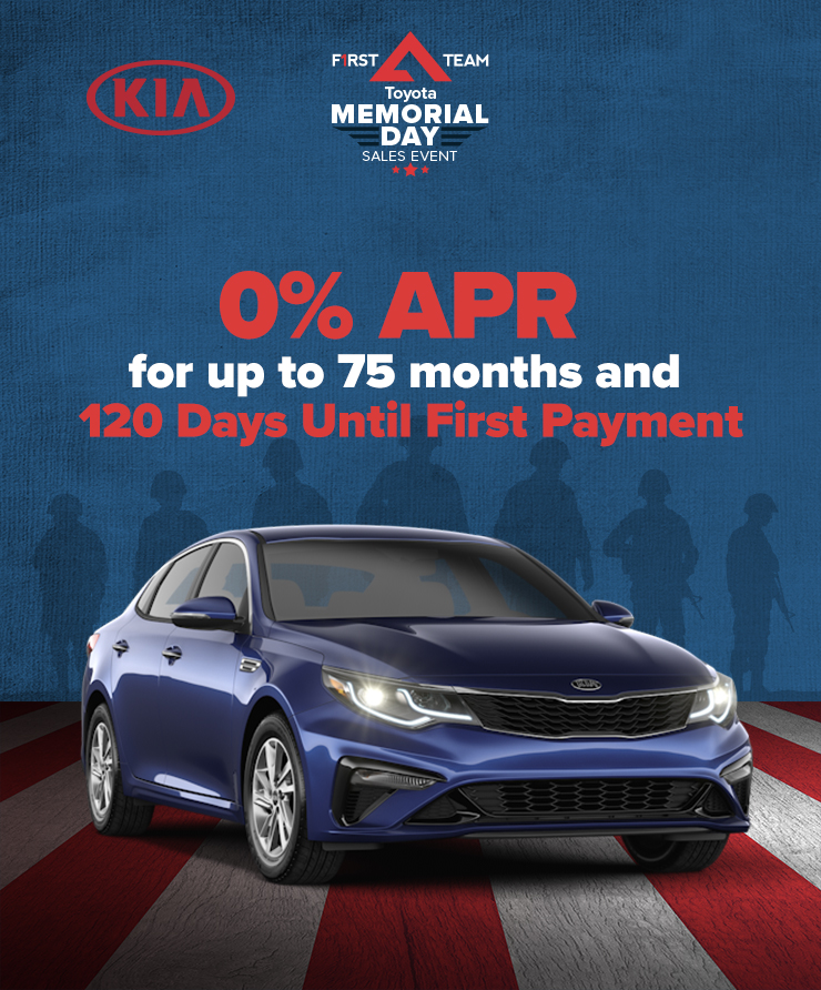 Kia 0% APR for 75 Months and 120 Days Til First Payment