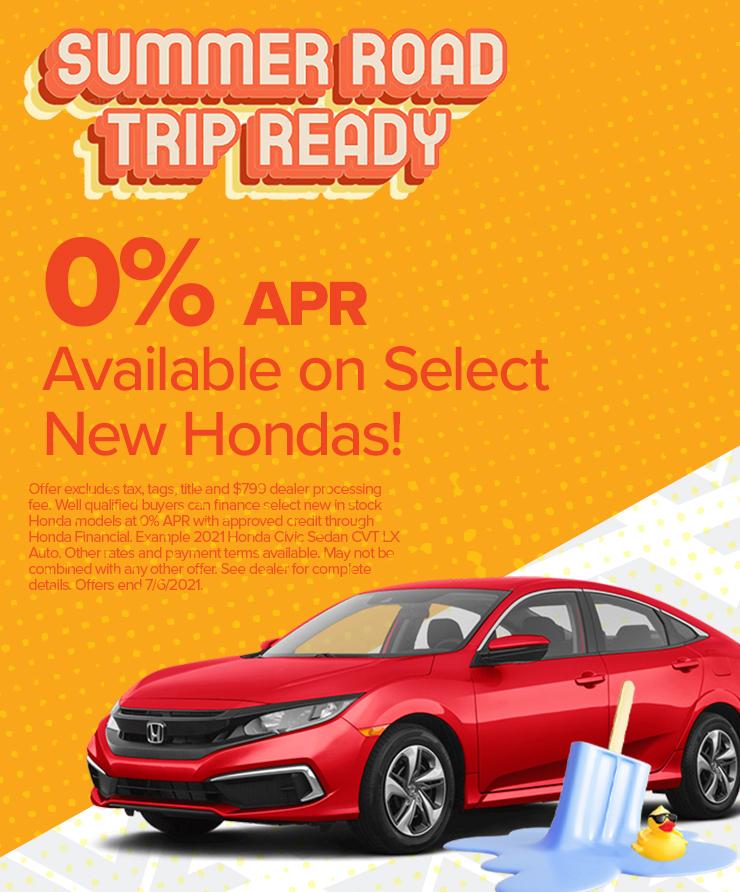Honda June 2021