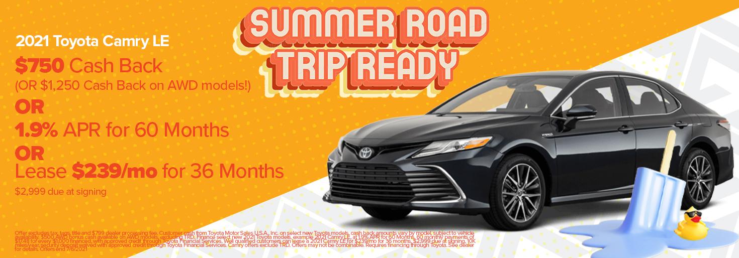 Toyota June 2021