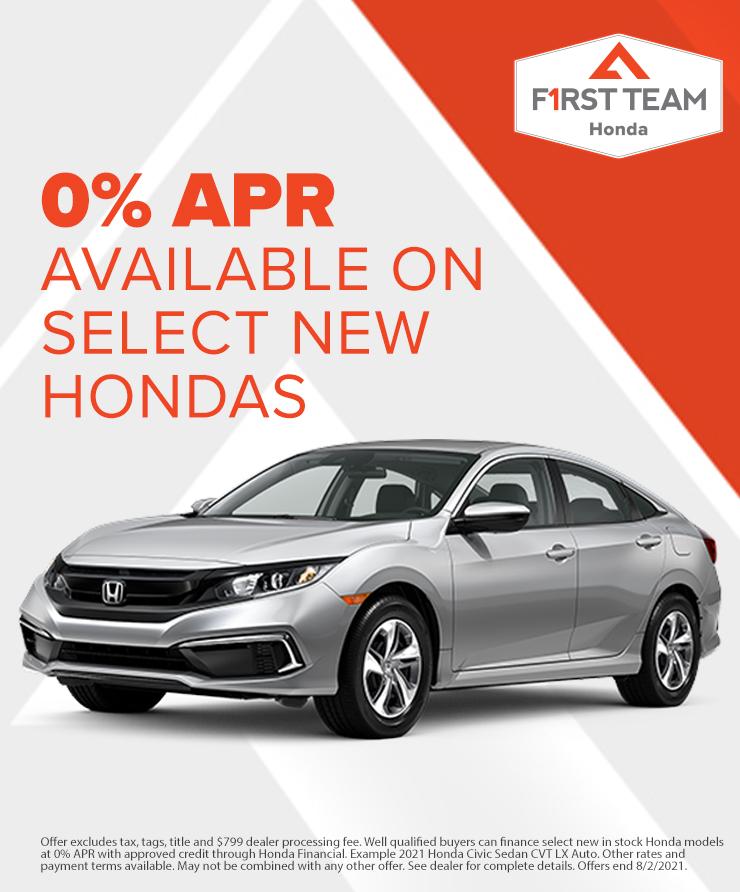 Honda July 2021